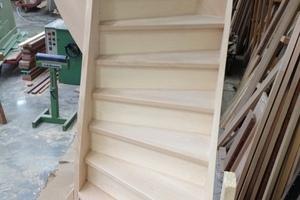 Centre du Bois Paul André - Escaliers traditionnels sur mesure