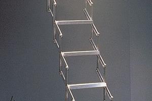Centre du Bois Paul André - Escalier escamotables