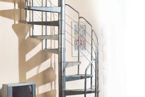 Centre du Bois Paul André - Escaliers hélicoïdales