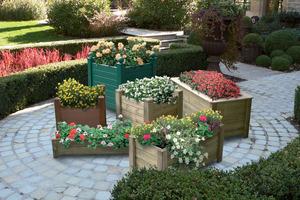 Centre du Bois Paul André - Bacs à fleurs